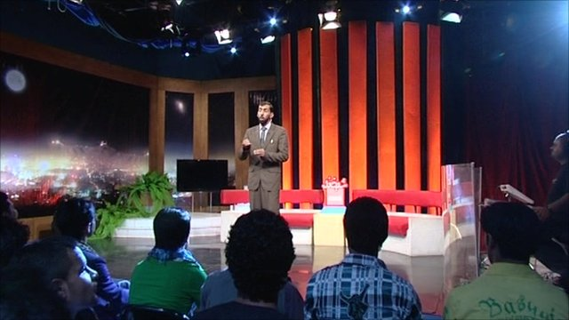 Afghan comedian Asif Jalali