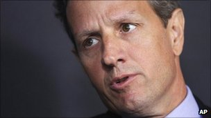 US Treasury Secretary Timothy Geithner