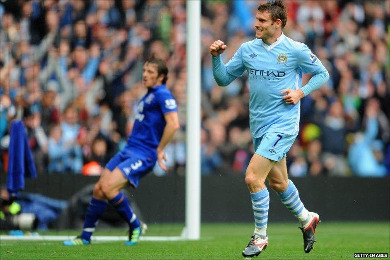 James Milner puts Manchester City 2-0 up