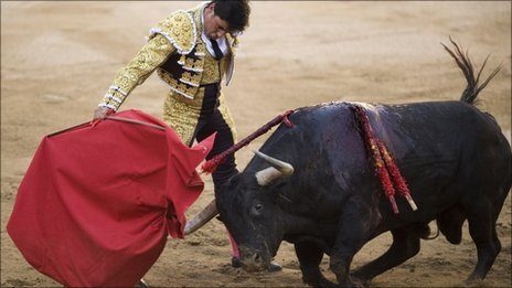 Bullfight in Barcelona. Photo: 2011
