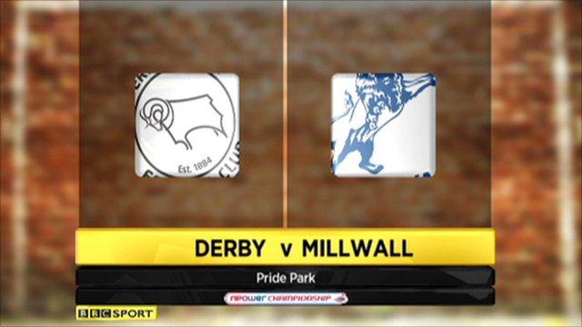 Derby 3-0 Millwall