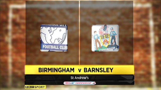 Birmingham 1-1 Barnsley