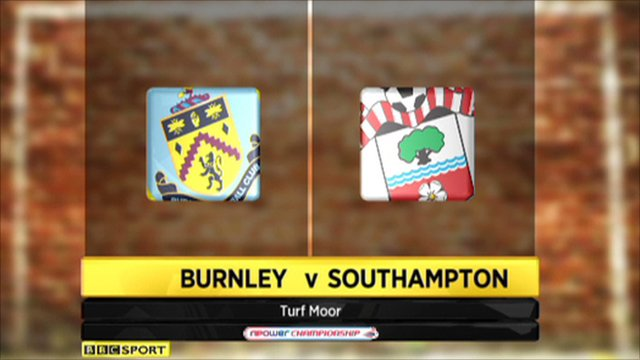 Burnley 1-1 Southampton