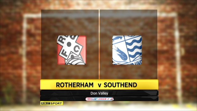 Rotherham 0-4 Southend