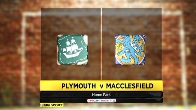 Plymouth 2-0 Macclesfield