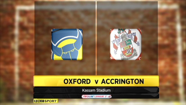 Oxford Utd 1-1 Accrington