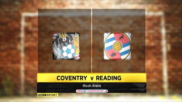 Coventry 1-1 Reading
