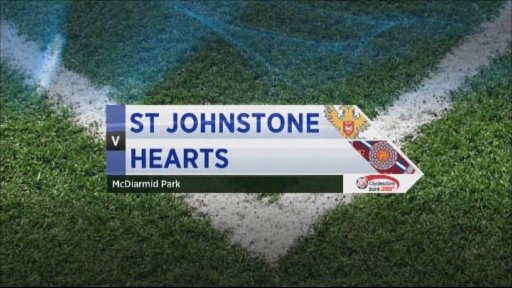 St Johnstone v Hearts