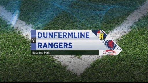 Dunfermline v Rangers