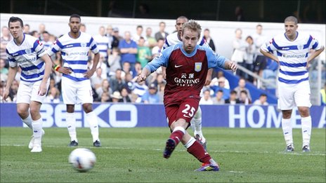 Aston Villa's Barry Bannan