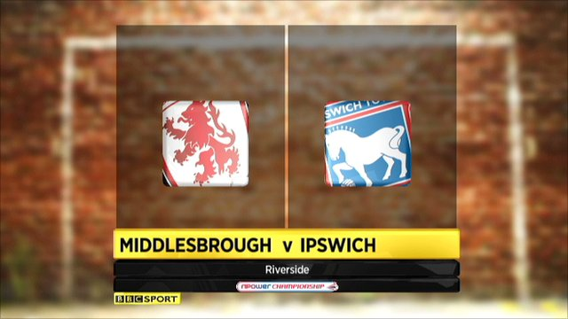 Middlesbrough 0-0 Ipswich