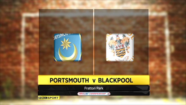 Portsmouth 1-0 Blackpool