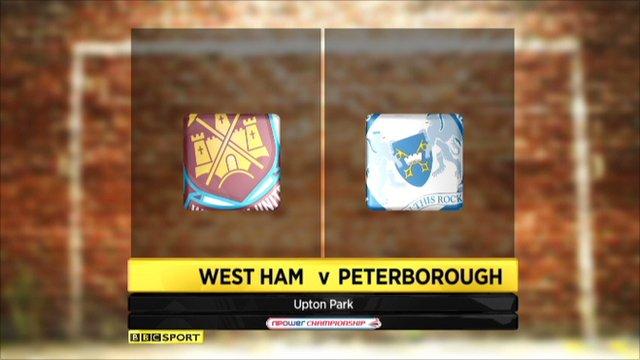 West Ham 1-0 Peterborough