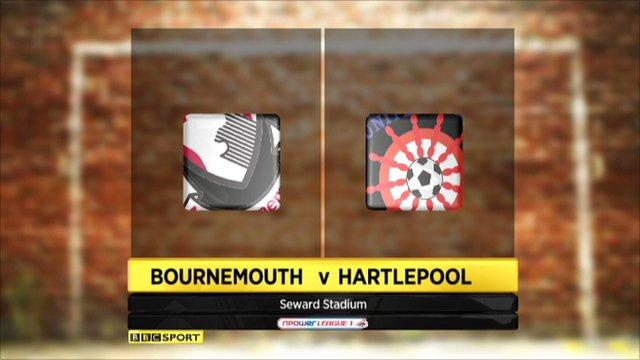 Bournemouth 1-2 Hartlepool
