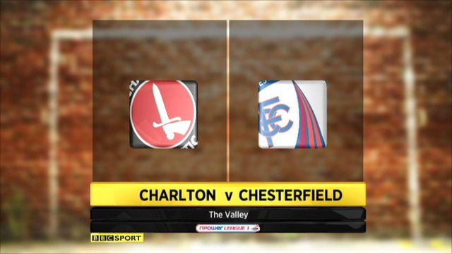Charlton 3-1 Chesterfield