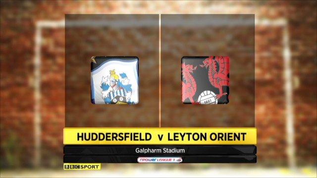Huddersfield 2-2 Leyton Orient