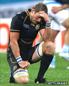 A gutted John Barclay reflects on Scotland's defeat