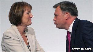 Harriet Harman and Ed Balls