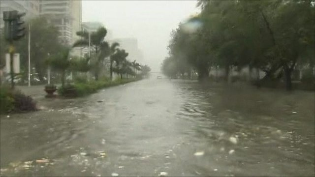 Flooding in Manila