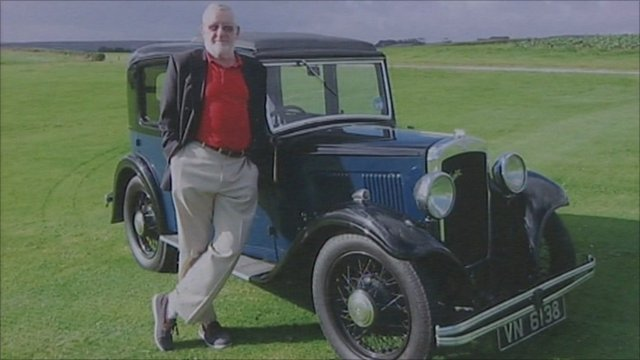 Pete Thomson and his Austin A10
