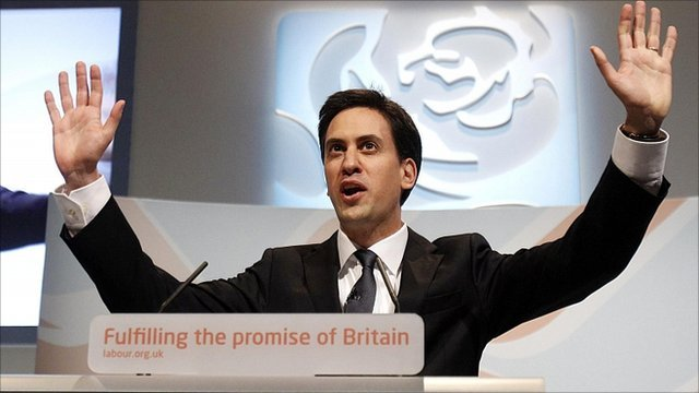 Labour leader Ed Miliband