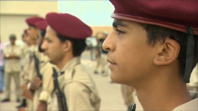 Young soldier in Tripoli