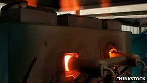 Gas fired kiln