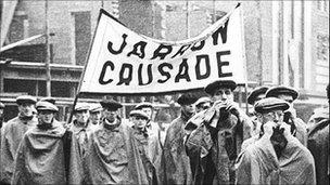 Jarrow March. Photo: Jarrow and Hebburn Historical Society