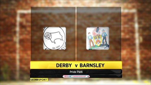 Derby 1-1 Barnsley