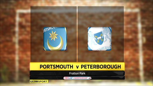 Portsmouth 2-3 Peterborough