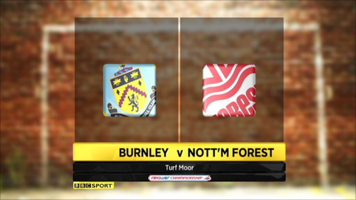 Burnley 5-1 Nottingham forest