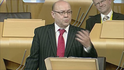 SNP MSP James Dornan leads a member's debate on alcohol.