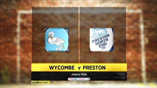 Wycombe 3-4 Preston
