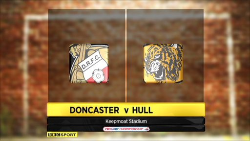 Doncaster 1-1 Hull