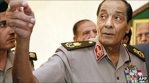 Military council leader Field Marshal Mohamad Tantawi