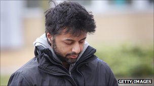 Shrien Dewani leaving Belmarsh Magistrates Court on 15 March