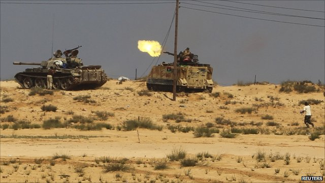 The battle for Sirte continues