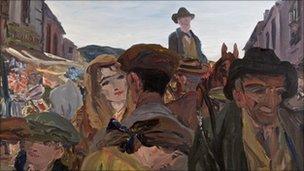 Yeats painting
