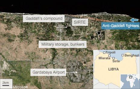 Sirte map