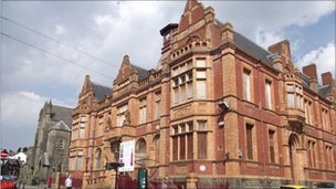 Merthyr town hall