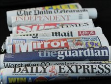 UK newspapers