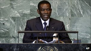 President Teodoro Obiang Nguema