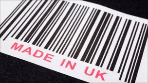 Made in the UK barcode
