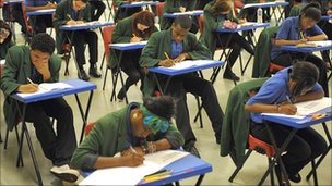 Exam hall