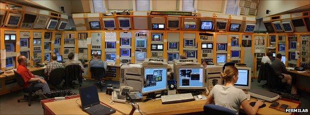 Tevatron control room (Fermilab)