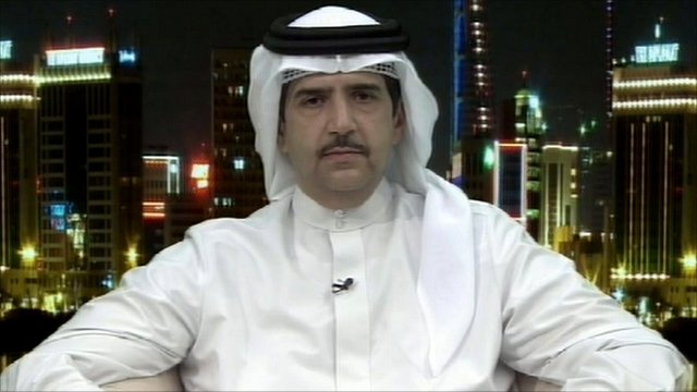 Sheik Abdulaziz Bin Mubarak Al Khalifa from Bahrain's Ministry of Information