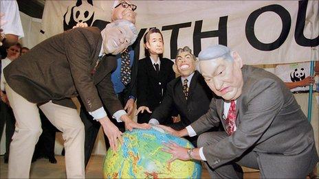 WWF campaigners