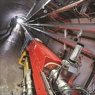 Tevatron accelerator