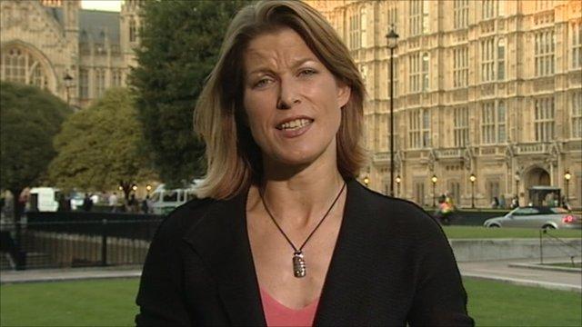 The BBC's economics editor Stephanie Flanders
