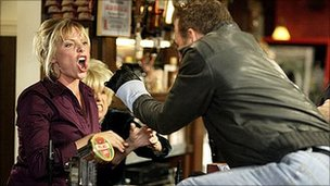 A gang attack in EastEnders was found in breach of Ofcom's code in 2008